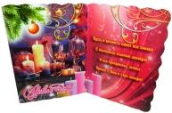 Мини-открытки С НОВЫМ ГОДОМ! лак + глиттер 90*60 Арт - 00029