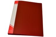 Папка с кольцами inФОРМАТ 4 кольца А4 красн. пластик 25 мм