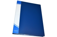 Папка 30 файлов А4 inФОРМАТ,  пластик 500 мкм, карман для маркировки