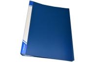 Папка 60 файлов А4 inФОРМАТ,  пластик 600 мкм, карман для маркировки