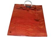 Пакет пласт. ручк Б Тико Рыжая сумочка
