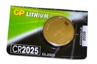 Батарейка GP CR2025 (DL2025) литиевая, BC5