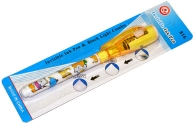 Ручка-шпион BASIR невидимые чернила УФ-фонарик корп цв рис BD-816