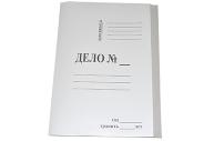 Скоросшиватель картон ДЕЛО 400 г/м2 мелованная