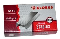 Скобы 10 GLOBUS, 1000 шт., высококачественная сталь