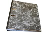 Папка-регистратор inФОРМАТ А4 мрамор картон 55 мм собранный