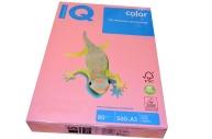 Бумага IQ (АйКью) color А3, 80 г/м,  пастель розовая (цена за 1 лист) PI25 ш/к 00273