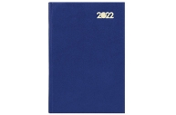 2022 Ежедневник датированный 2022 (145х215мм), А5, STAFF, твердая обложка бумвинил, синий, 113337