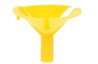Держатель-зажим для шаров, отверстие 0, 6 см, d=4, 5 см, цвет жёлтый