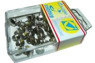 Кнопки /J. Оtten/ 50шт, 107BL, никелир., пластик. коробка, европодвес /10 /0 /400