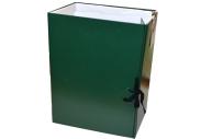 Короб архивный, бумвинил, 15 см, 2 х/б завязки, цвет ассорти, до 1400л.