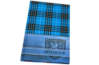 Блокнот А5 96л. обл. ламин., кл., BRAUBERG, Шотландка, 135*206мм