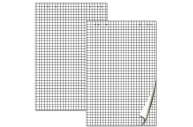Блок бумаги для флипчарта BRAUBERG, 20 л., клетка, 67, 5*98 см, 80 г/м, 124097