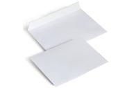 Конверт С6 (114х162 мм), отрывная полоса, белые,