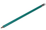 Карандаш чернографитный Attache Economy плаcтик, с ластиком, HB, зелен. корпус