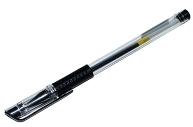 Ручка гелевая, 0. 5 мм, прозрачный корпус, чёрный стержень