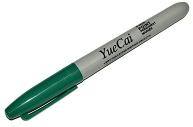 Маркер перманентный, 3. 0 мм, зелёный, Calligrata 1101