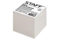 Блок для записей STAFF проклеенный, куб 9*9*9 см, белый, белизна 70-80%, 129205