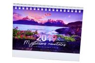 2019 Календарь-домик HATBER, на гребне, 160х105мм, горизон., Горы, 12КД6гр_16840 (K281536)