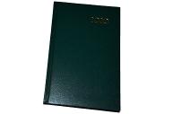 2020 Ежедневник датированный 2020 А5, BRAUBERG Select, кожа классик, зеленый, 138*213мм, 129711
