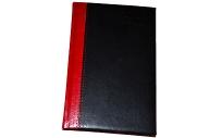 2020 Ежедневник датированный 2020 А5, BRAUBERG Prestige, комбинированный, красный/черный, 138*213мм