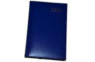 2020 Ежедневник датированный 2020 А6, BRAUBERG Select, кожзам, т-синий, 129756