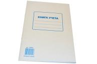Книга учета 72л, А4 202*258мм, STAFF клетка, картон, блок офсет, 130057