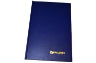 Книга учета 96клетка А4 б/в офсет 200*290мм, BRAUBERG блок офсет, 130069/КУ-521, 130069