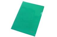 Папка-уголок Berlingo, А4, 180мкм, прозрачная бесцветная