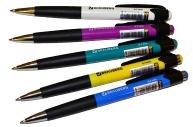 Ручка шариковая автомат. BRAUBERG Concept, корпус ассорти, 0, 7мм, линия 0, 35мм, синяя, 141156