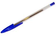 Ручка шариковая STAFF, корпус прозрачный, узел 1мм, линия письма 0,5 мм, синяя, 141672