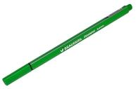 Ручка капиллярная BRAUBERG Aero, СВЕТЛО-ЗЕЛЕНАЯ, трехгранная, металлический наконечник, 0,4 мм, 142250