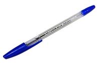 Ручка шариковая STAFF BP-1000, СИНЯЯ, корпус прозрачный, узел 0, 7мм, линия 0, 35мм, BP146