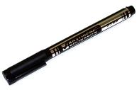 Маркер для CD и DVD BRAUBERG, супертонкий металлический наконечник 0,5 мм, черный, 150512