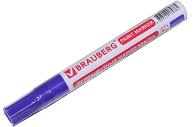 Маркер-краска лаковый (paint marker) 4 мм, ФИОЛЕТОВЫЙ, БЕЗ КСИЛОЛА (без запаха), алюминий, BRAUBERG PROFESSIONAL,
