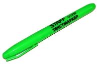 Текстмаркер STAFF, ЗЕЛЕНЫЙ, эргономичный корпус, скошенный наконечник 1-3мм, 151239