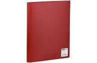 Папка 10 вклад. OfficeSpace, 8мм, 400мкм, красная