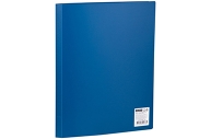 Папка 10 вклад. OfficeSpace, 8мм, 400мкм, синяя