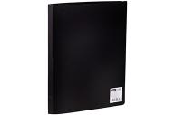Папка 20 вклад. OfficeSpace, 17мм, 400мкм, черная