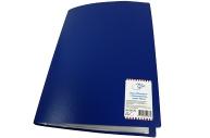 Папка 30 вклад OfficeSpace, 20мм, 400мкм, синяя