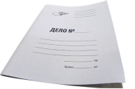 """Папка Дело OfficeSpace """"Дело"""", картон немелованный, 280г/м2, белый, до 200л."""