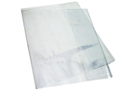 Обложка д/тетради и дневника прозр. ПВХ 110мкм. Размер 345*210