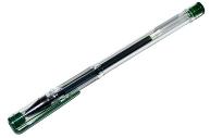 Ручка гел зеленая 0,5 мм, OfficeSpace