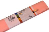 Бумага цветная креповая 50*250см WEROLA плотн 32г персик 12061-117