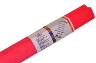 Бумага цветная креповая 50*250см WEROLA плотн 32г клубничн.