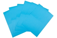 Бумага самоклеящаяся А4 1 лист, Lomond, голубая, 02 фр. (210*148, 5), 80г/м2, техноупаковка