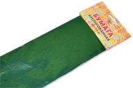 Бумага цветная креповая 50*250см 32/м2 изумрудно-зеленый е/п ЭКСМО КБ029
