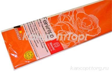Бумага цветная креповая 50*250см плотн 32г оранжевый е/п WEROLA 12800-109