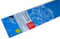 Бумага цветная креповая 50*250см плотн 32г бирюзовый е/п WEROLA 12800-124