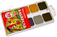 Краски акварельные BRAUBERG, 20цв, медовые, пластиковая коробка, без кисти, 190553